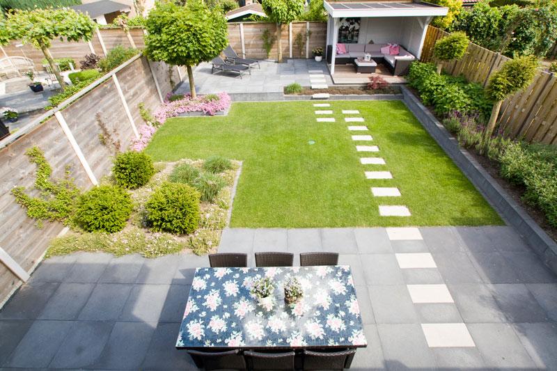 Dijkhof tuin advies ontwerp aanleg en onderhoud achtertuin